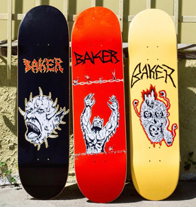 SHOP BAKER SKATEBOARDS
