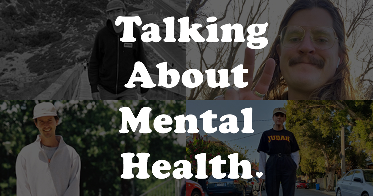 Talking about Mental Health Pt. 1